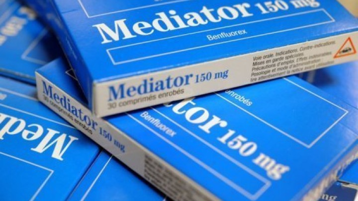 Des boîtes de Mediator, le produit au coeur d'un scandale judiciaire traité entre-autres par TTLA Avocats